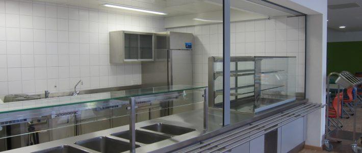 Schulmensa im Clavius Gymnasium Bamberg